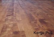 kase põrand, rustic, toonitud õli
